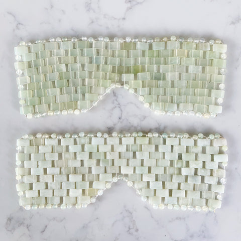 jade eye mask - Apple & Oak