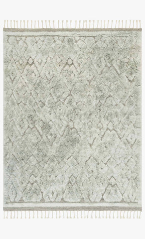 hygge rug collection- grey/mist