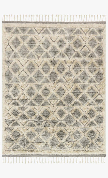 hygge rug collection- smoke/taupe