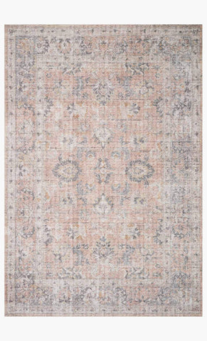 skye rug collection- blush/grey - Apple & Oak