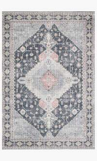 skye rug collection- charcoal/multi