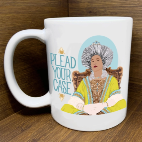 plead your case {bridgerton} mug - Apple & Oak