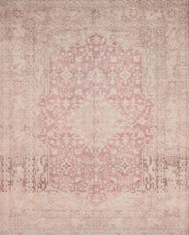 lucca rug collection- terracotta ivory