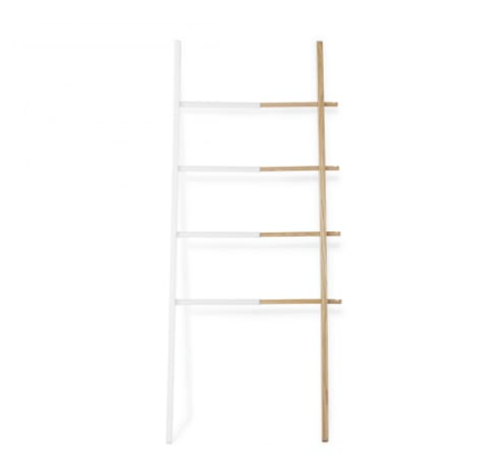 white/natural ladder