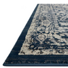everly rug collection- indigo indigo