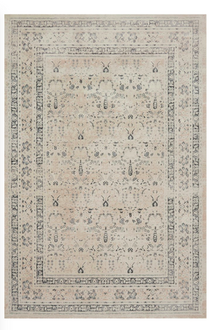 everly rug collection- ivory sand