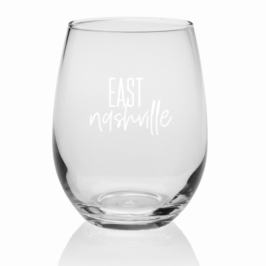 east nashville wine glass