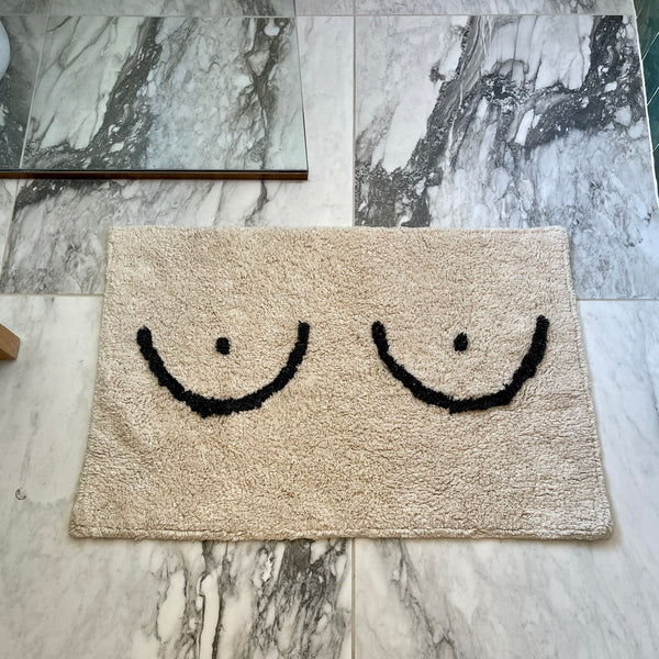 boobie bath mat - Apple & Oak