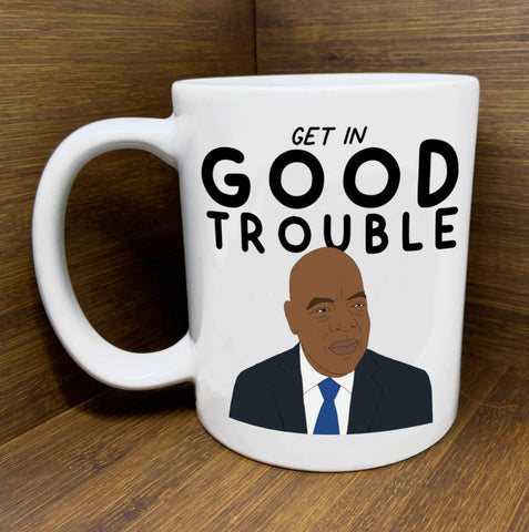 get in good trouble john lewis mug