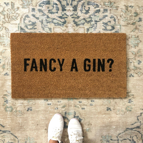 fancy a gin doormat