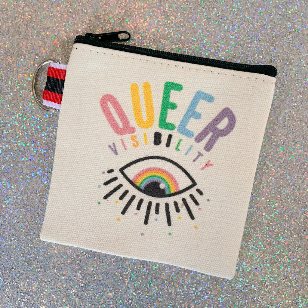 queer visibility pouch - Apple & Oak