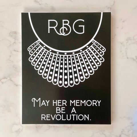 rbg revolution print {8x10} - Apple & Oak