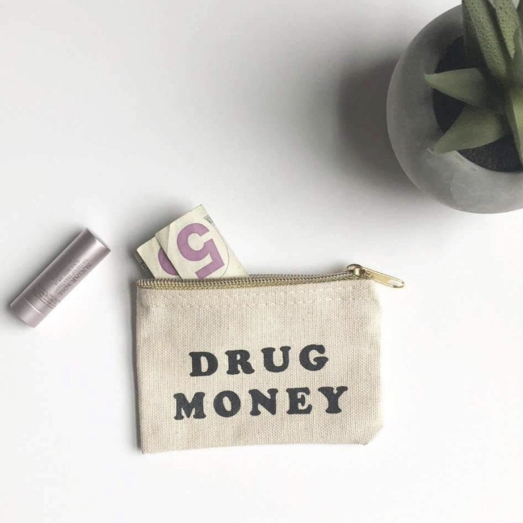 drug money pouch - Apple & Oak