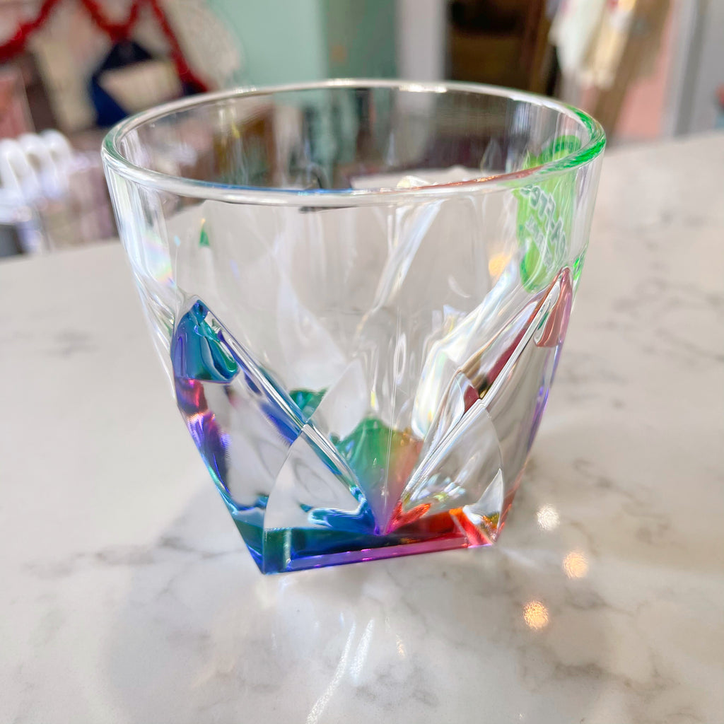 rainbow {acrylic} cup - Apple & Oak