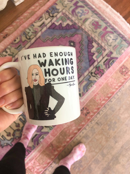 moira waking hours mug