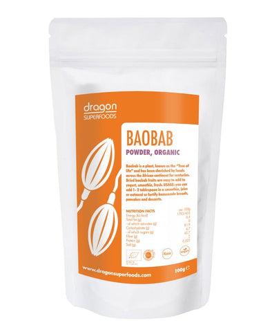 Baobab pulbere eco 100g