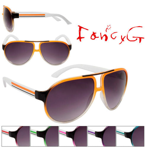12 Assorted Package Fashion Sunglasses Unisex Cool Style UV 400 Protection