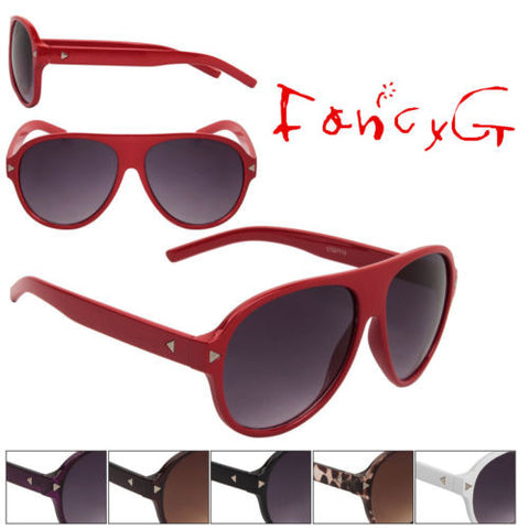 12 Assorted A Cool Fashion Sunglasses Unisex Classic Style UV 400 Protection