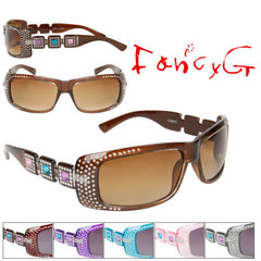Package of 12 Assorted UV Protection Sunglasses Fashion Designed Eyewear from US