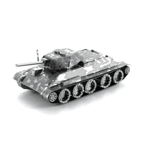 Metal Earth 3D Laser Cut Steel Model Kit WWII 1940 to 1958 Soviet T-34 Tank