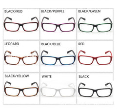 New Classic Vintage Style Retro Rectangle Shape Clear Lens Glasses Frame Eyewear
