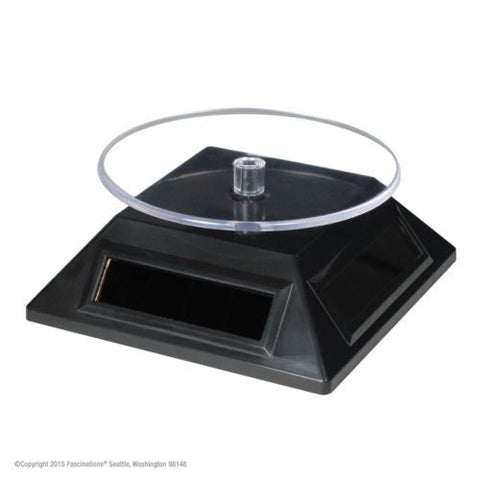 Fascinations Metal Earth Solar Spinner Displaying Base for 3D Models 360 Degrees