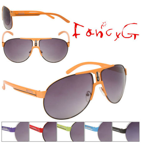 12 Assorted Unisex Fashion Sunglasses Fashion Sporty Style UV 400 Protection