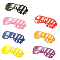 7PC Large Size Neon Party Rave EDM EDC Eyewear Shades Adult Glasses Frame Set3