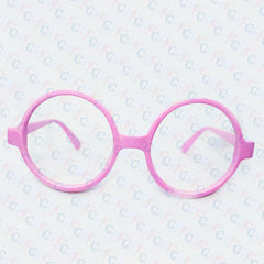 Harry Potter Wizard Costume Glasses Frames Geek Nerd Eyewear Round Shape NO LENS