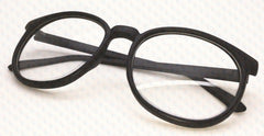 Nerd Glasses Frames Eyewear Style Clear Lens Classic Costumes Retro Fun