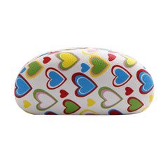 High Quality Colored Sunglasses Carrying Cases with Cute Heart Patterns
