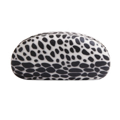 High Quality Colored Sunglasses Carrying Cases with Cute Leopard Cheetah Patterns