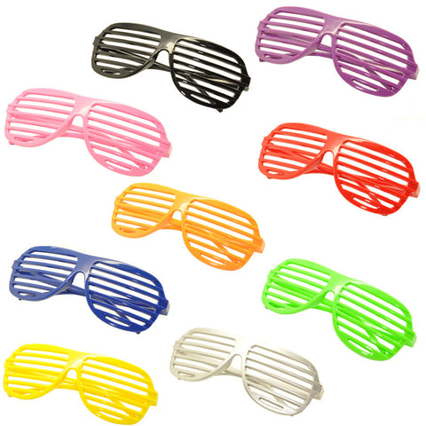 Cool Fashion Party Spectacles Shutter Style Glasses Frame Eyewear