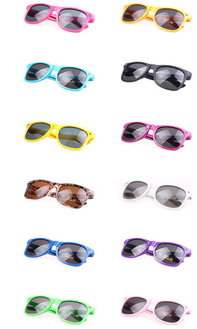 Vintage Inspired Classic Wayfarer Style UV 400 Protection Sunglasses Frame Eyewear