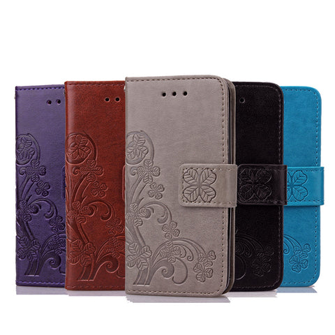 Leather Wallet Flip For Sony Z2 Z3 Z4 Z5 Mini Case Retro Embossed Flower Phone Cases Bag Shell Card Slot Stand Holder Soft Cover