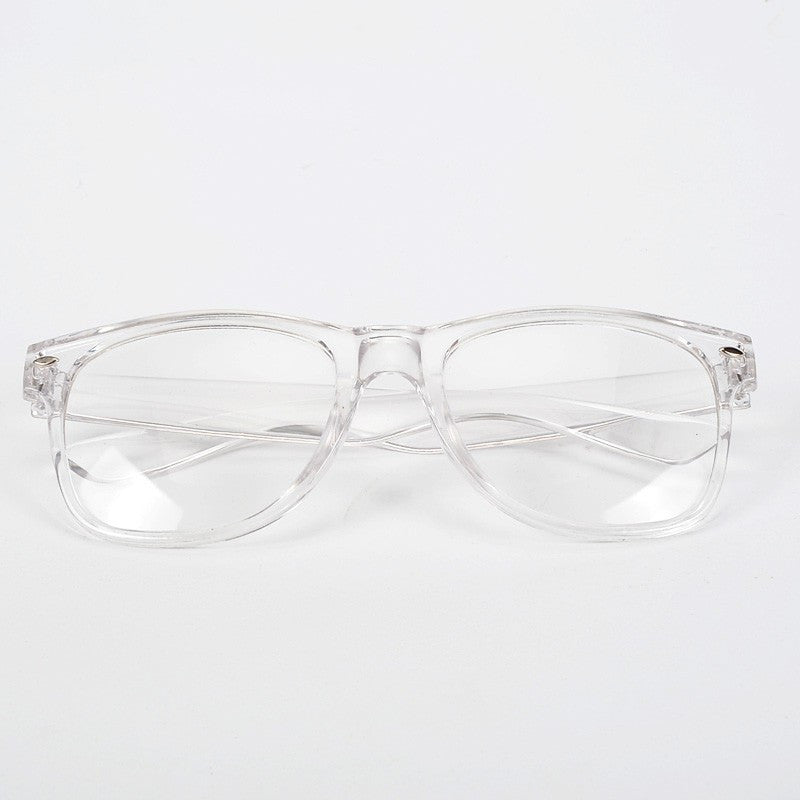 b70c3540a631 ... New Fashion Eyeglasses Transparent Frame Glasses Cool Driving Spectacles  for Women ...