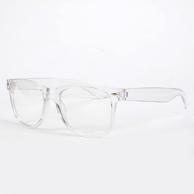 New Fashion Eyeglasses Transparent Frame Glasses Cool Driving Spectacles for Women