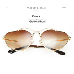 New Arrival Brand Designer Mirror Sunglasses Women UV400 Lady Sun Glasses Female