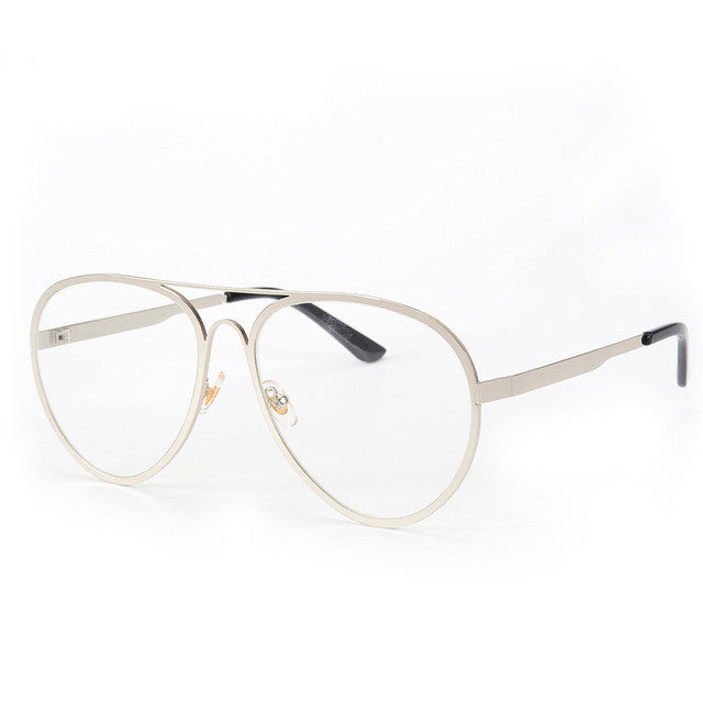 NEW Sunglasses Eyeglasses Frames Top Flat Women Metal Spectacles Glasses