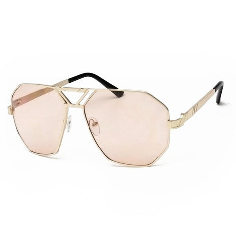 New Designer Men Women Sunglasses Retro Unique Metal Frame