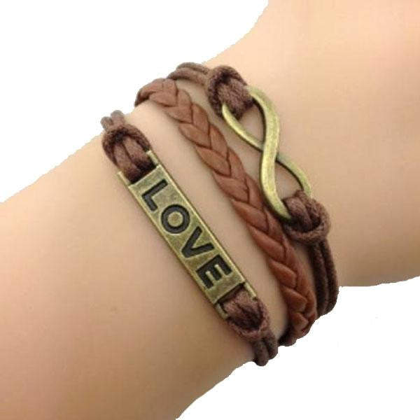 Love Forever Brown Bracelet