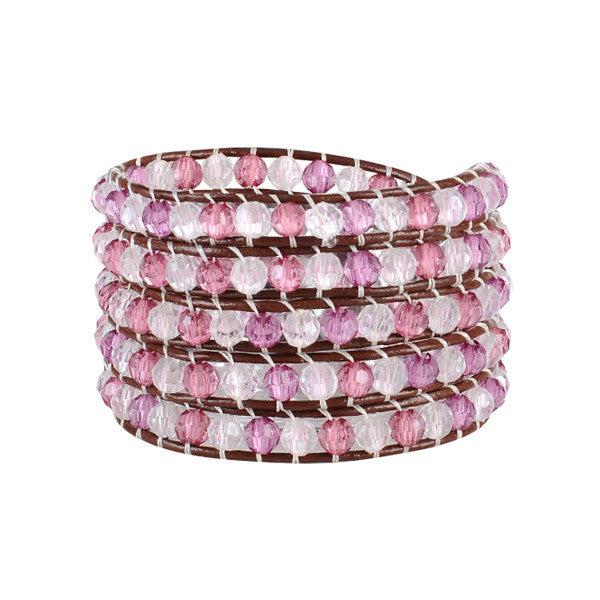 Cotton Candy Wrap Bracelet
