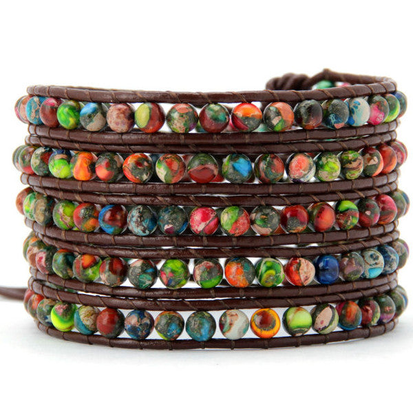 Colorful Fusion Wrap Bracelet