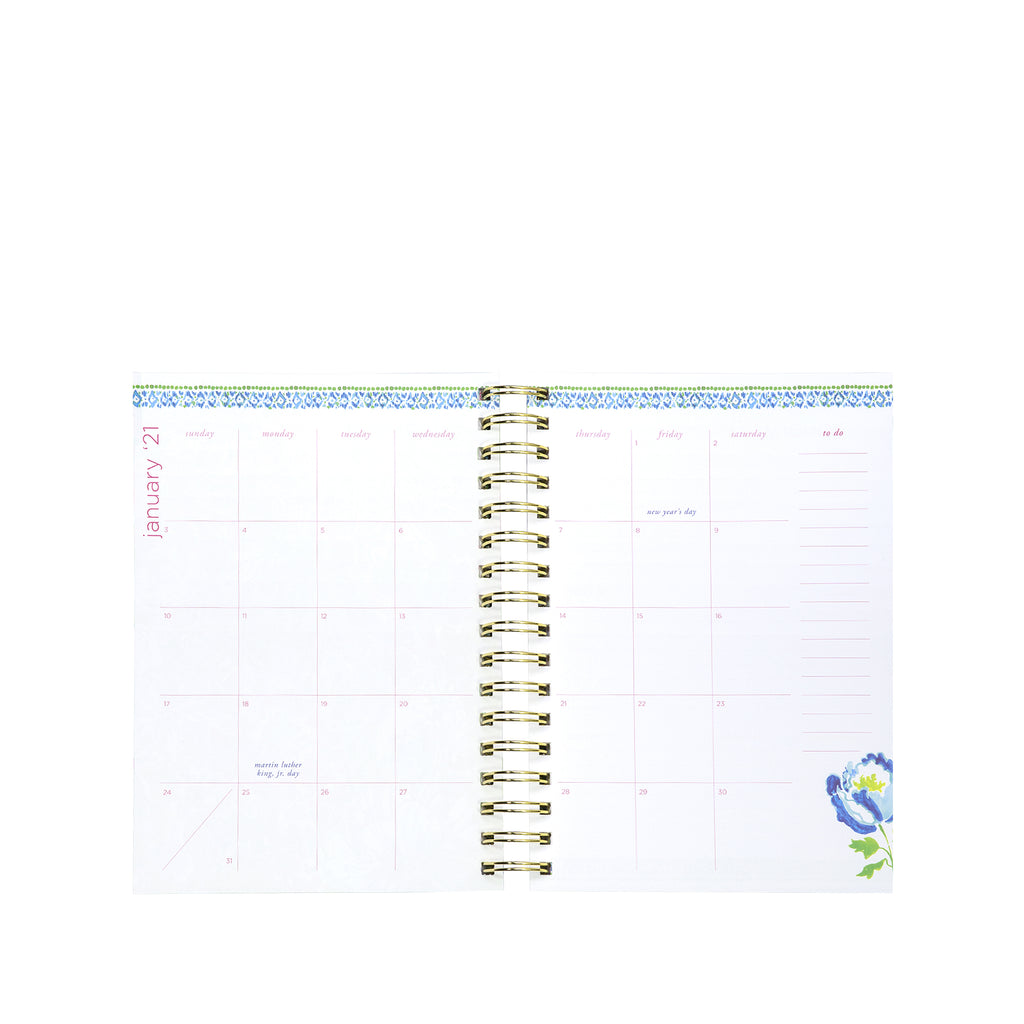 Lilly Pulitzer 12 Month Agenda Large, Treasure Trove