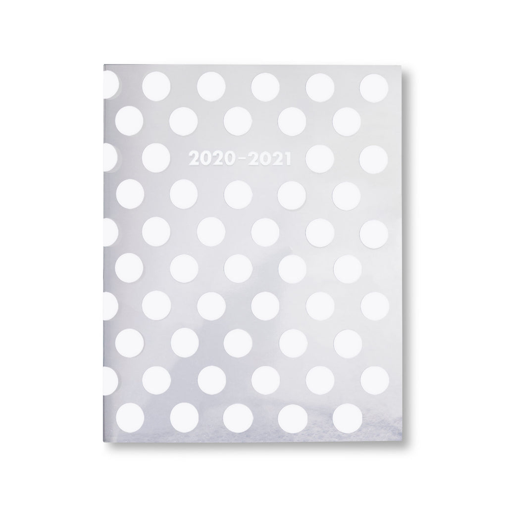 2020-2021 kate spade new york 17 month booklet planner, white dot