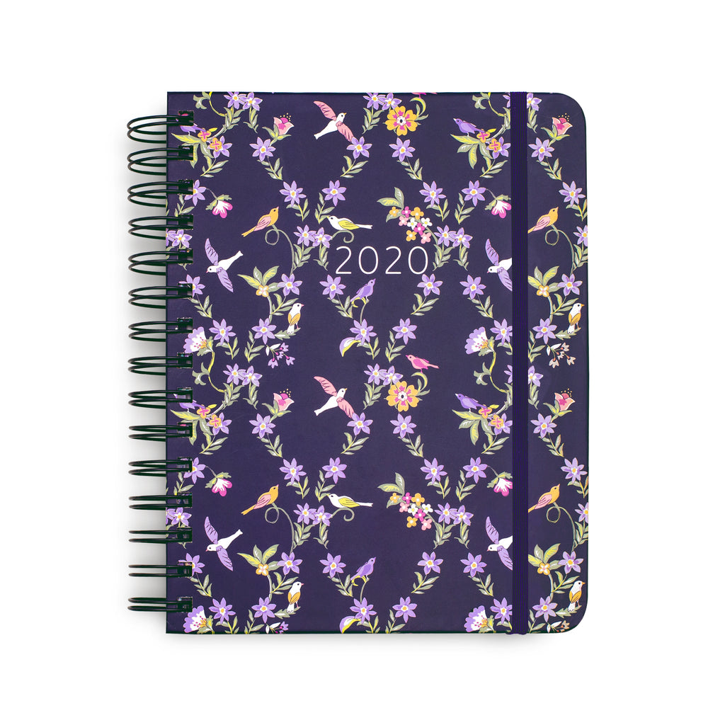 2020-2021 Vera Bradley 17 Month Medium Planner, French Ditsy