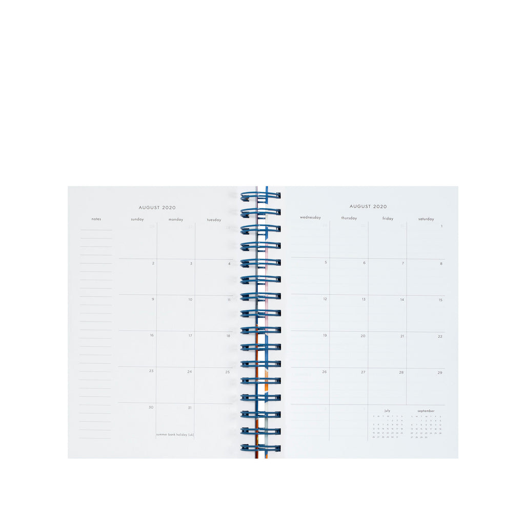 2020-2021 kate spade new york 17 month planner medium, pop floral