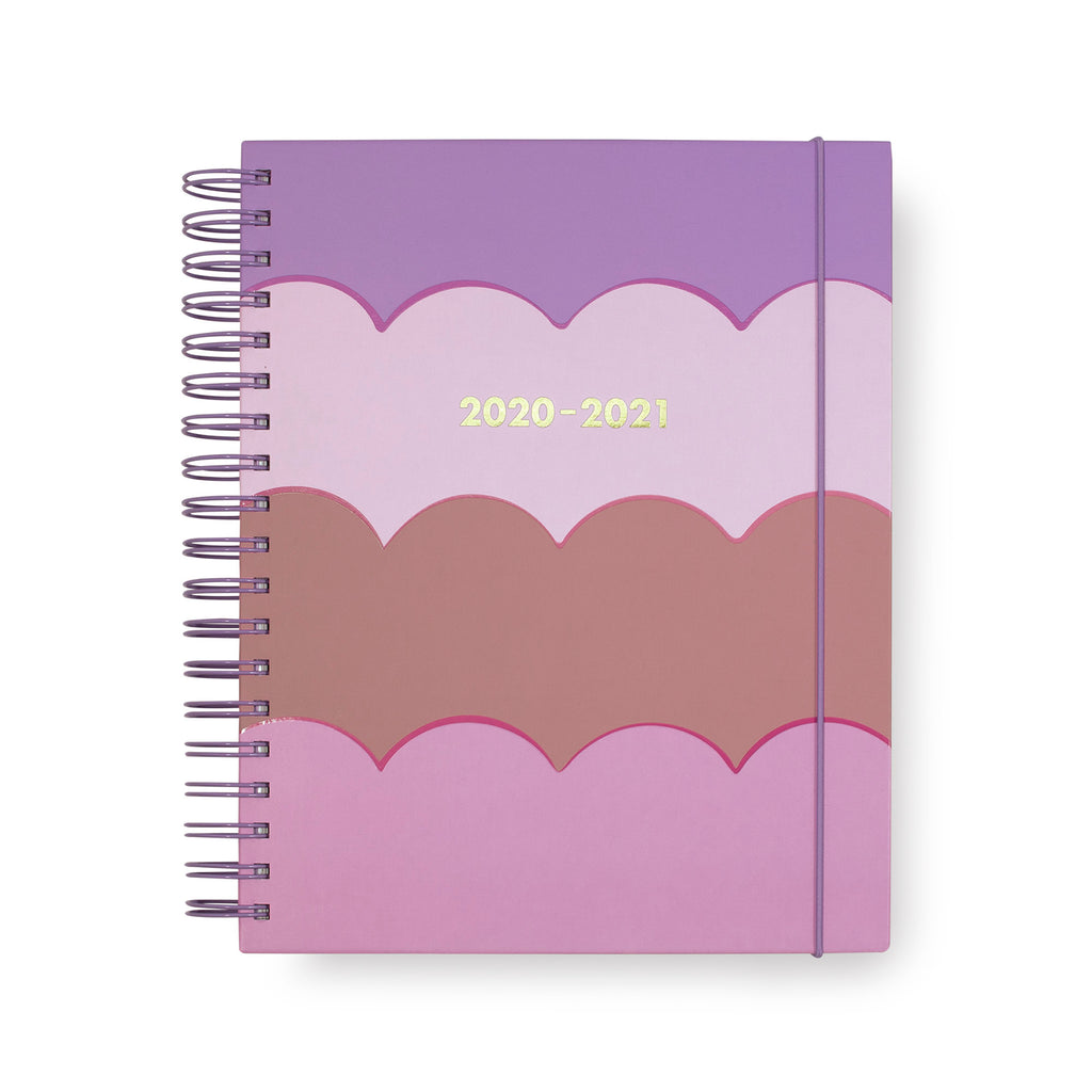 2020-2021 kate spade new york 17 month planner mega, scallop