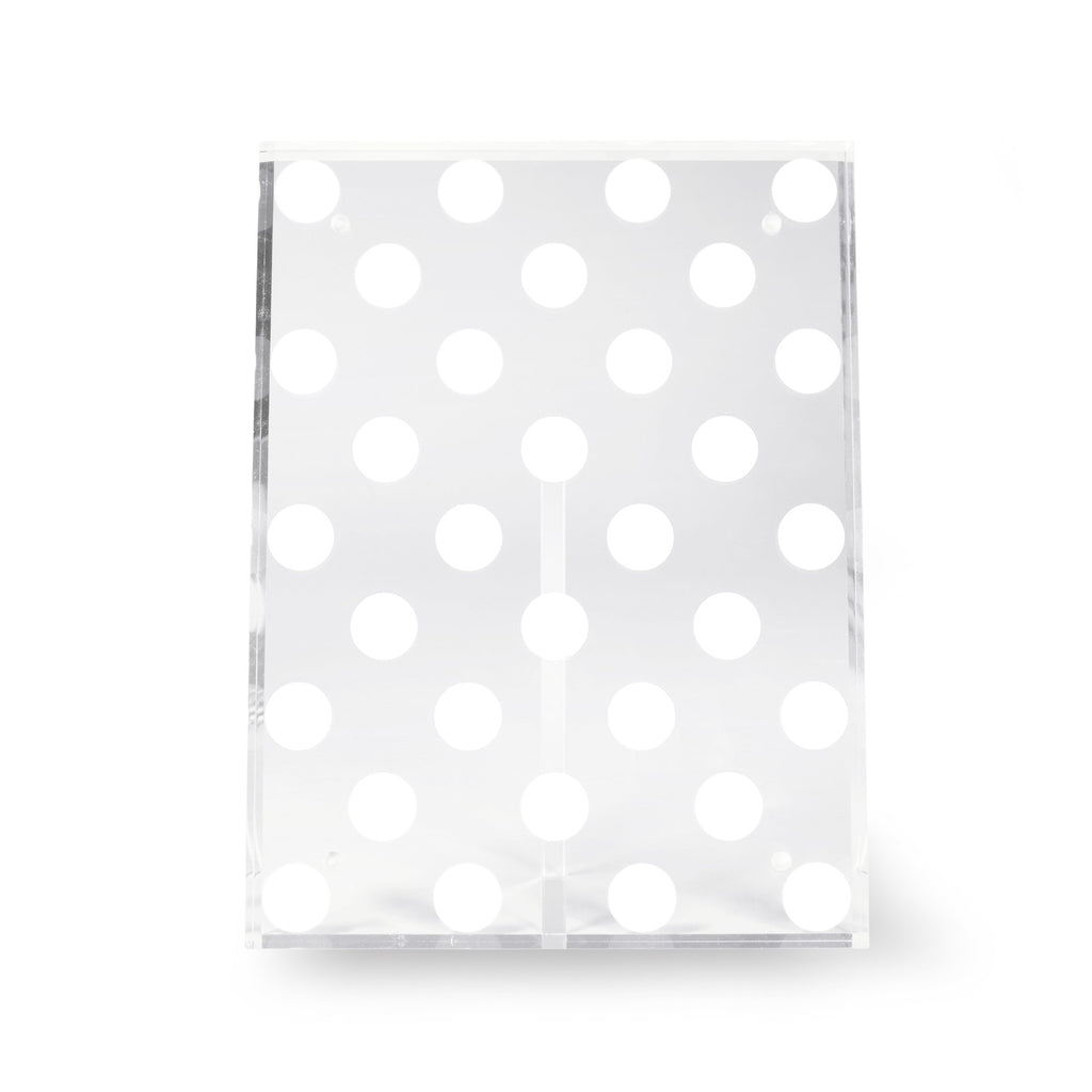 kate spade new york picture frame, white dot