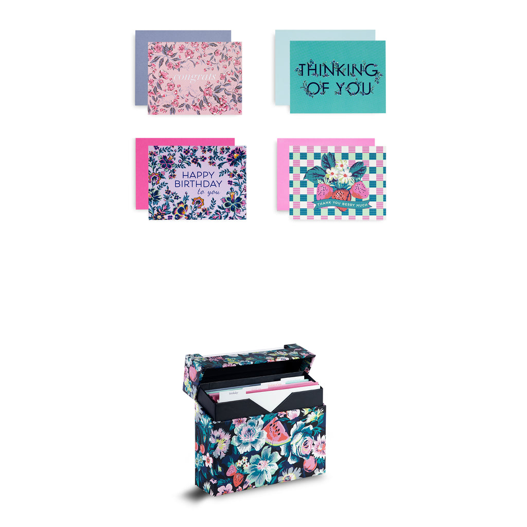 vera bradley all occasion card set, Spring 2020 Medley
